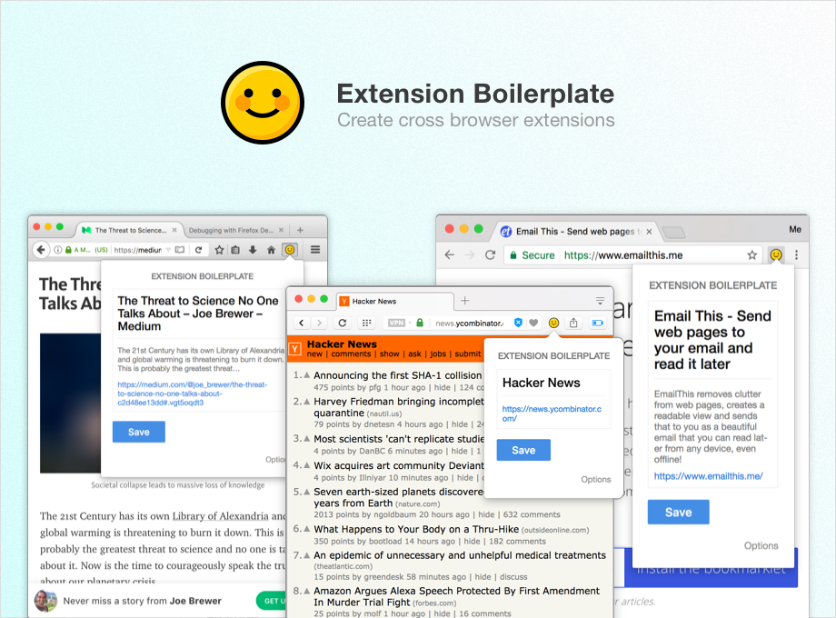 Extension Boilerplate